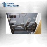 Stampatrice di Flexo di quattro colori per il documento di rullo o del cellofan,