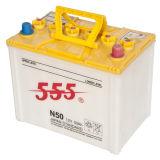 Аккумулятор сухой загрузки Авто батареи свинцово-кислотная батарея N50