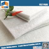 Dureté de polyester feutrine pour matelas, 400gsm, épaisseur 3mm