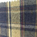 Tessuto spazzolato 100% della flanella del tessuto di cotone per le camice delle parti superiori
