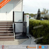 Elevación de sillón de ruedas vertical para el aseguramiento comercial invalidado a casa