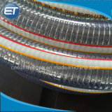 Reinforced Water Hydraulic Industrial Discharge Hose를 위한 PVC Steel Wire