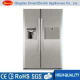 Frigorifero side-by-side nessun frigorifero del portello francese di gelo