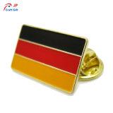 Heißer Verkauf kundenspezifische Markierungsfahne des Deutschland-Abzeichens für Andenken