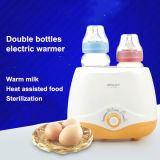 Scaldino e sterilizzatore elettrici della bottiglia di bambino due