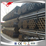 ASTM A53 Negro pintado Tubos ERW de perfiles tubulares de acero al carbono