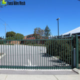 Röhrensicherheits-dekorativer Stahlzaun von Melbourne Fachleute einzäunend
