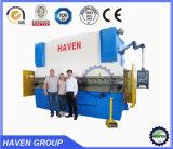 Máquina de dobra hidráulica da placa do freio da imprensa do Readout de WC67Y-125X3200 E21 Digitas