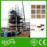 planta animal da alimentação da pelota do fornecedor da fábrica 3-4t/H, fábrica de tratamento da alimentação animal