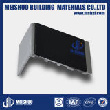 Escalier en aluminium de sûreté flairant avec la garniture intérieure noire de carborundum