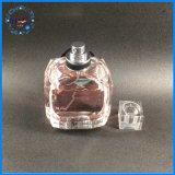 Bottiglia di profumo di vetro vuota elegante di vendita calda
