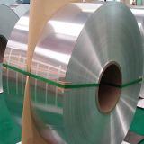 Bobina cubierta color fácil del papel de aluminio del conjunto del alimento del extremo abierto
