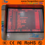 Semi-Outdoor para publicidade P12 LED Display Strip