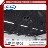 Oculta de la Junta de techo acústico de lana de vidrio con certificado CE