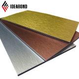 屋根ふきのためのIdeabondの魅力的なチタニウム亜鉛合成のパネル