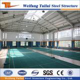 Gimnasio del edificio de Prefaricated de la casa de la estructura de acero del diseño de China