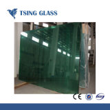 3.2-6mm 녹색 집을%s 매우 명확한 모방된 강화 유리