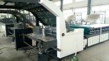 Máquina semiautomática de Lmainating de la flauta