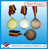 공백 금속 메달은 자신의 로고를 가진 메달 디자인을 주문을 받아서 만들었다