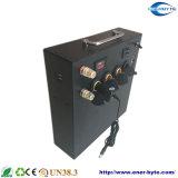 De draagbare het Kamperen rv van het Systeem van de ZonneMacht 12V 100ah Bank van de Batterij van het Lithium