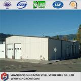 Almacén prefabricado de múltiples funciones del marco de acero con el panel incombustible