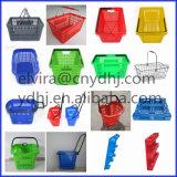 Alta qualità Supermarket Basket con Wheels con CE e l'iso