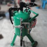 Glasraupe-nasser Typ Sandstrahlen-Maschine für Verkauf
