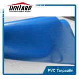Tela incatramata blu-chiaro del rimorchio del PVC del tessuto di 900GSM Panama