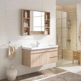 2017構成ミラーが付いている新しく高い浴室の家具のキャビネット