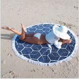 ビキニの隠蔽の円形のヒッピーのタペストリーのビーチタオルの布のマット
