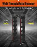 Zona 3 Walk-Through portátil detector de metales Vo-1313