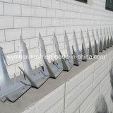 Корпус из нержавеющей стали 1,25 м оцинкованной стены безопасности борона с остроконечными зубьями для дома