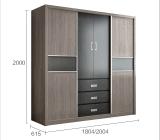 Горячие продукты по домашней мебели с одной спальней шкаф (WD-1226)