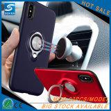 有用で取り外し可能な車のiPhone Xのための磁気リングのホールダーの箱