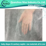 Nonwoven Pelle-Amichevole dello strato della parte superiore del pannolino con lo SGS (NT-011)
