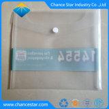 Couleur personnalisée dossier A4 en plastique transparent avec Magic autocollant