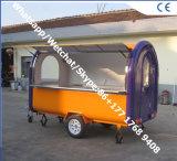 卸売価格の食糧トラックの移動式食糧トレーラーの食糧トレーラーのクレープの移動式太陽トレーラー