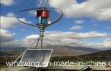 600W de hoge Efficiënte Verticale Turbine van de Macht van de Wind van de As