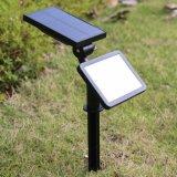 Indicatori luminosi solari alimentati solari luminosi eccellenti della parete di movimento di obbligazione esterna LED del sensore