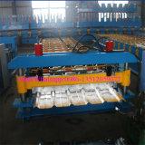 機械を形作る屋根シートRのパネルロール