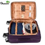 """Bagagli molli 20 del cuoio dei bagagli dei bagagli del carrello di buona qualità """" /24 """" /28 """" di sacchetto dei bagagli"""