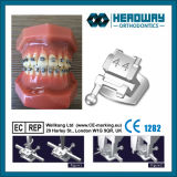 Supports métalliques orthodontiques auto-ligants Roth