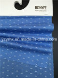 Законченный ткани хлопка поплина синь 100% военно-морского флота смолола с белым рисунком