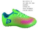 Drei Farben PU-Fußball bereift zwei Größen-Schuhe