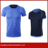 T-shirts réversibles en bonne santé de sport du Jersey du football d'impression de dri fait sur commande de qualité avec votre logo (R206)