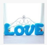 Kundenspezifisches Letters Pillow mit Colorful Design