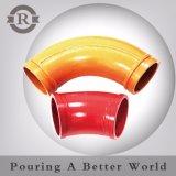 Le meilleur boyau en caoutchouc résistant à l'usure de vente d'extrémité de pompe concrète de Dn125 Dn150