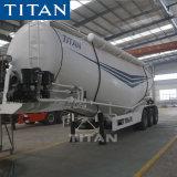 Réservoir de plâtre de la remorque des terres de ciment en vrac vraquier Transporteurs