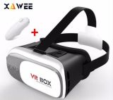 Banheira Google Papelão Caixa VR II versão 2.0 Vr óculos 3D de Realidade Virtual para 3,5 - 6,0 polegadas telefone Smart+Controlador Bluetooth 1.0