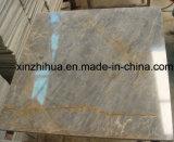 Итальянский серый мраморный мрамор вены золота слябов